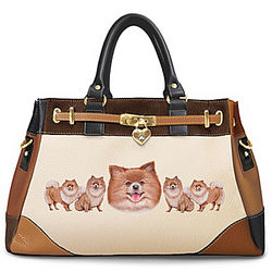 Fashion's Best Friend Pomeranian Handbag