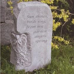 Sun Shines, Birds Sing Angel Obelisk