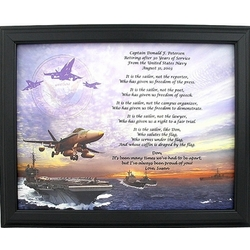 Personalized Navy Retirement Poem