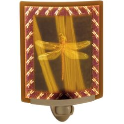 Dragonfly Colored Lithophane Night Light