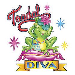 Toadal Diva Frog T-Shirt
