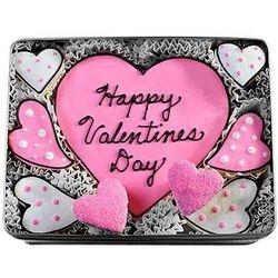Happy Valentine's Day Cookie Gift Tin