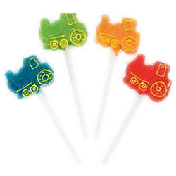 Assorted Train Shaped Suckers