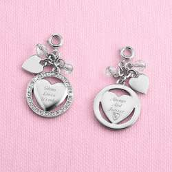 Pierced Heart Charm