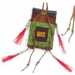 Cheyenne 1860's Native American Medicine Bag