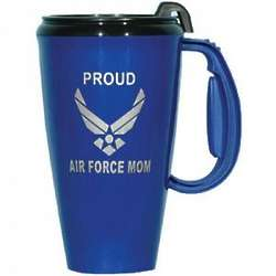 Proud Air Force Mom Travel Mug
