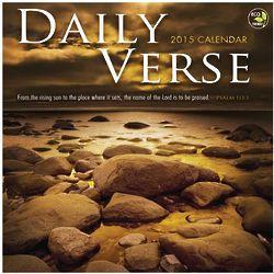 2014 Daily Verse Wall Calendar