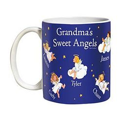 15-Ounce Sweet Angels Personalized Mug