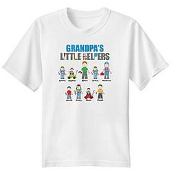 Adult's Personalized Little Helpers T-Shirt