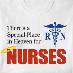 Special Place in Heaven for Nurses Shirt