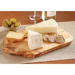 Rustic Wooden Appetizer Board