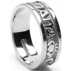 Men's Sterling Silver Mo Anam Cara Ring