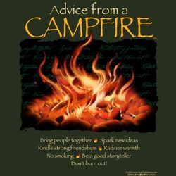 Advice From a Campfire T-Shirt