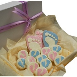 Chocolate Covered Oreo Cookie Baby Gift Box