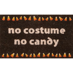 No Costume No Candy Doormat
