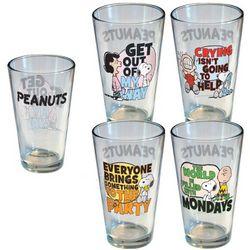 Peanuts Pint Glass Set