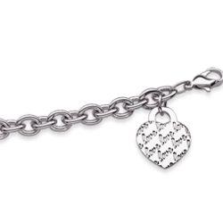 Lots of Love Heart Charm Bracelet