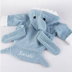 Let the Fin Begin Shark Terry Baby Robe