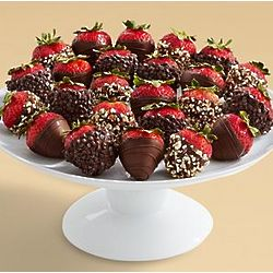 Two Dozen All Dark Chocolate Strawberries