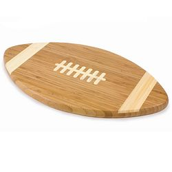 Football Shape Bamboo Cutting Board