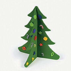 Fabulous Foam 3D Christmas Tree