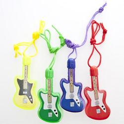 Guitar Bubble Bottle Necklaces