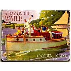 A Day on the Water Personalized Sign