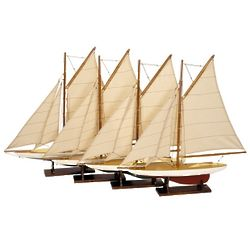 Mini Yacht Models