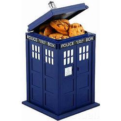 Dr. Who Tardis Cookie Jar