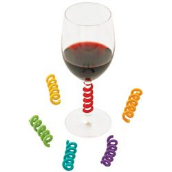 Spring Wine Stem Charms