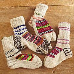 Kullu Hand Crafted Socks