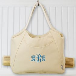 Monogram Beach Tote with Mat