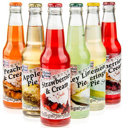 6 Pack of Pie Flavored Sodas