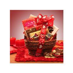 Elegant Indulgence Chocolate Valentine Basket