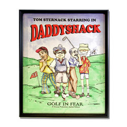 Personalized Daddyshack Canvas