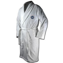 New York Mets Terrycloth Logo Bathrobe