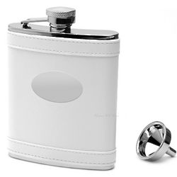 White Pearl Liquor Flask