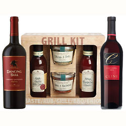 Stonewall Kitchen Grilling and Wine Gift Set