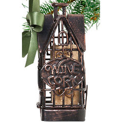 Home Sweet Home Cork Cage Ornament