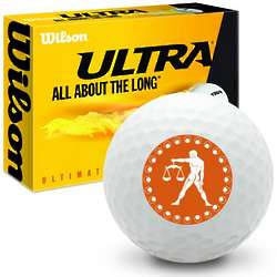 Zodiac Libra Ultra Ultimate Distance Golf Balls