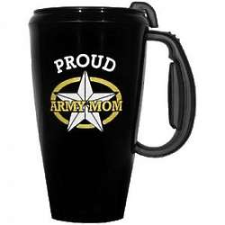Proud Army Mom Travel Mug
