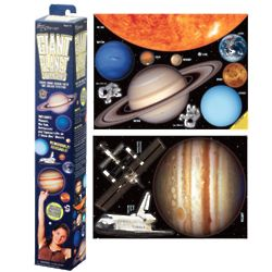 Giant Planet Stick On Wall Decor