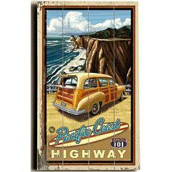 The Pacific Coast Highway Custom Sign