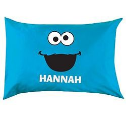 Personalized Cookie Monster Pillowcase