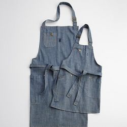 Son or Father Personalized Denim Apron