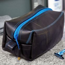 Recycled Inner-Tube Dopp Kit