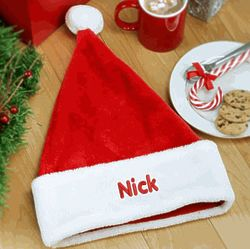 Personalized Adult Santa Hat