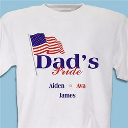 USA American Pride Personalized T-Shirt