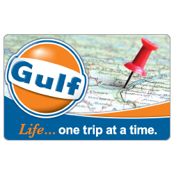 Gulf Oil Road Trip Gift Card