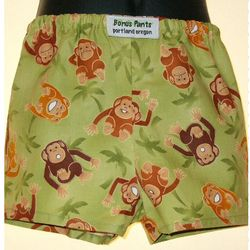 Kids Little Monkey Boxer Shorts